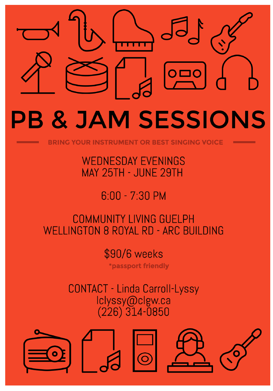 PB and Jam Flyer