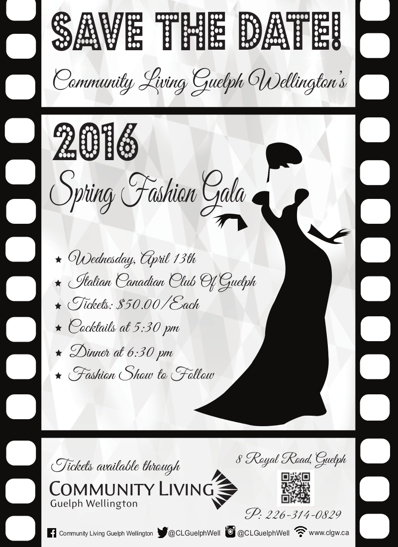Spring Fashion Show 2016 poster