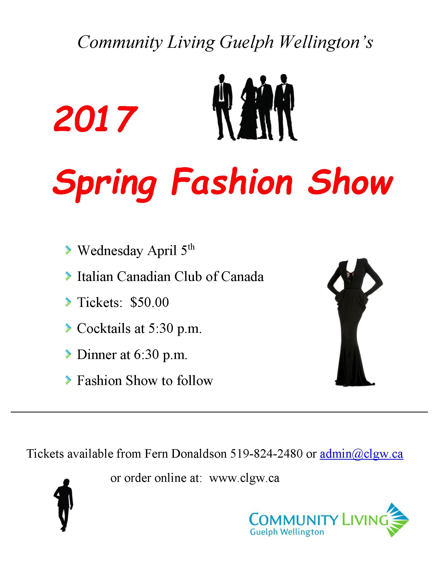 Fashion Show 2017 Flyer