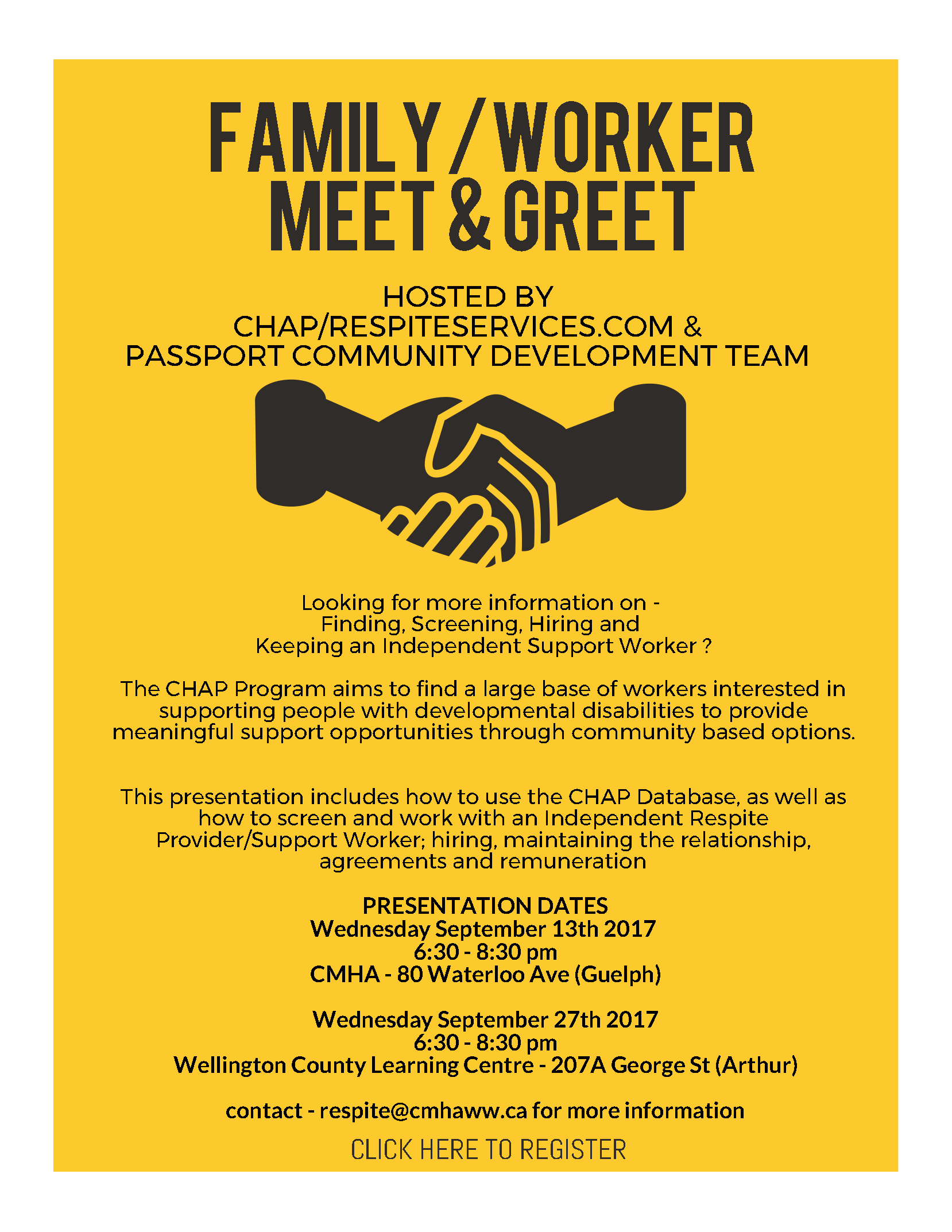 CMHA Meet and Greet